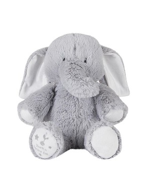 Spurs Born a Spurs Fan Plush Elephant