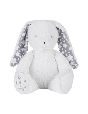 Spurs Born a Spurs Fan Plush Rabbit