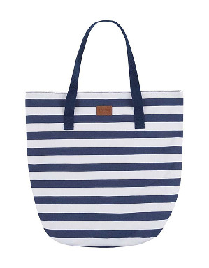 Spurs Stripe Canvas Tote Bag