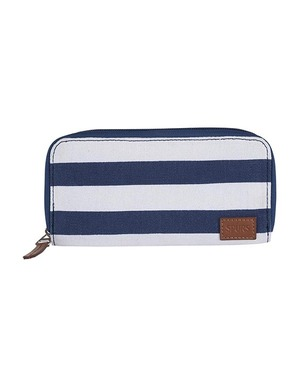 Spurs Stripe Canvas Purse