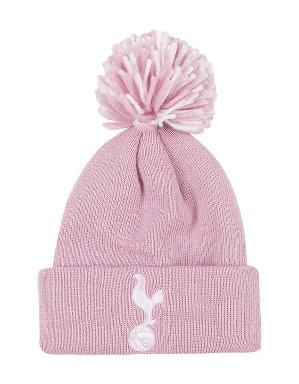 Spurs Infant Pink Bobble Hat