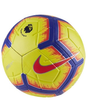 Nike Strike Yellow Premier League Size 5 Football