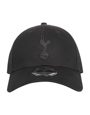 Spurs Black New Era 9FORTY Cap