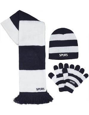 Spurs Kids Navy And White Stripe 3 Piece Set