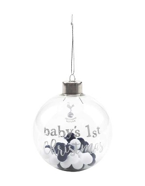 Spurs Babys First Bauble