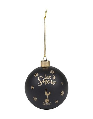 Spurs Let It Snow Matte Bauble