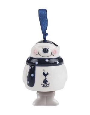 Spurs Snowman Tree Ornament