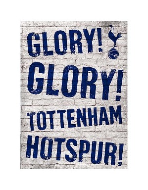 Spurs Glory Glory Greetings Card