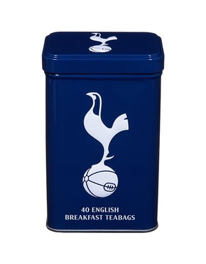 Spurs 40 English Breakfast Tea Tin