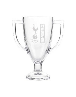 Spurs No.1 Fan Trophy Glass