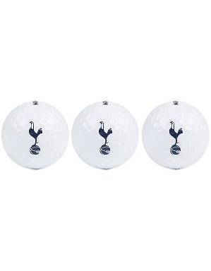Spurs 3 Pack Golf Balls