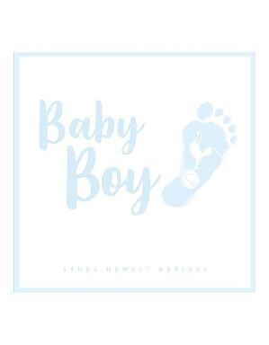 Spurs Baby Boy card