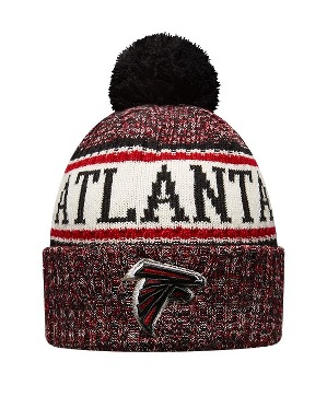 New Era Adult Atlanta Falcons Bobble Knit Hat