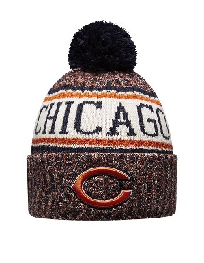 New Era Adult Chicago Bears Bobble Knit Hat