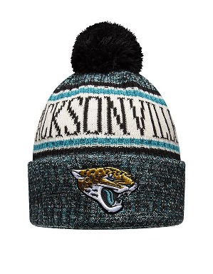 New Era Adult Jacksonville Jaguars Bobble Knit Hat