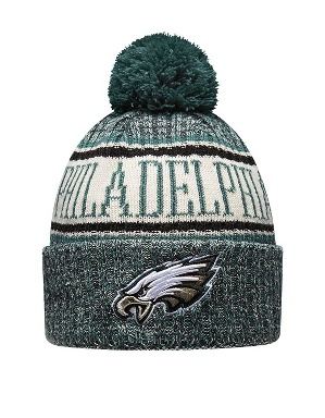 New Era Adult Philadelphia Eagles Bobble Knit Hat