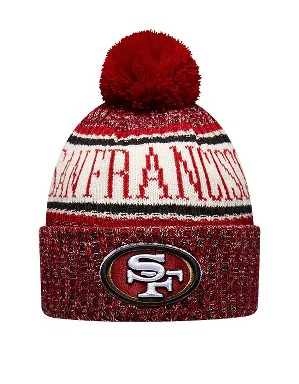 New Era Adult San Francisco 49ers Bobble Knit Hat