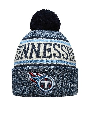 New Era Adult Tennesse Titans Bobble Knit Hat