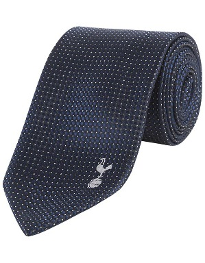 Spurs Pin Dot Tie