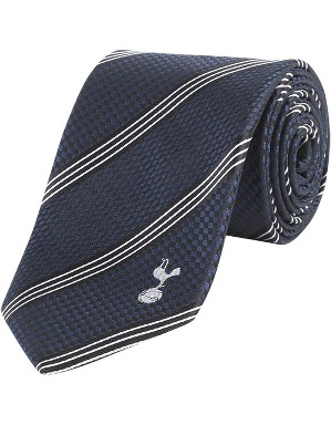 Spurs Tripple White Stripe Tie