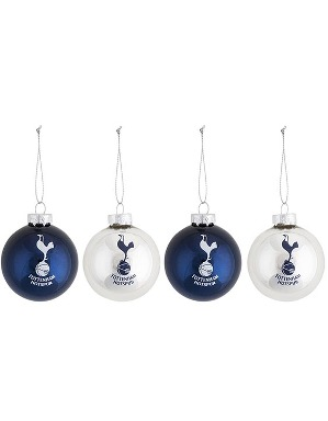 Spurs 4 Pack Baubles