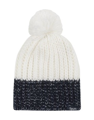Spurs Womens Contrast Bobble Hat