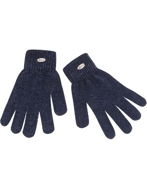 Spurs Womens Chenille Gloves