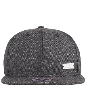 Spurs Adult Winter Grey Snap Back