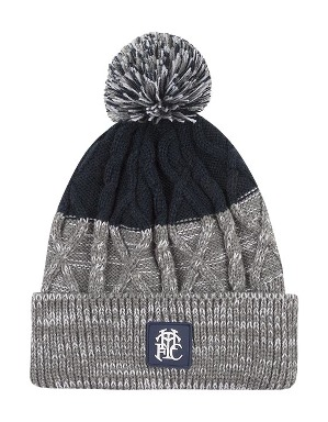 Spurs Adult THFC Mix Cable Bobble Hat