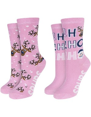Spurs Womens 2 Pack Christmas Socks