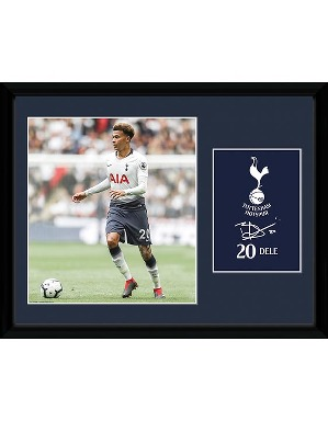 Spurs 2018/19 Dele Framed Picture