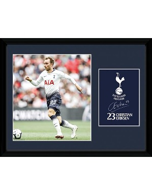 Spurs 2018/19 Eriksen Framed Picture