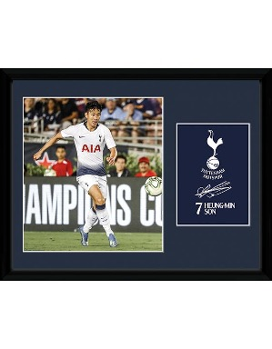 Spurs 2018/19 Son Framed Picture