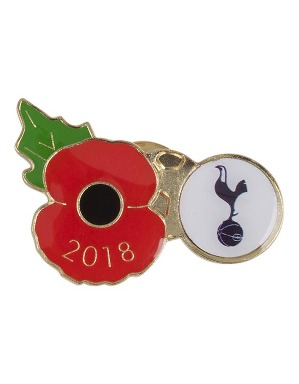 Spurs Poppy Badge 2018