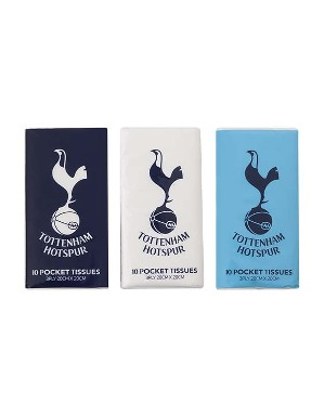 Spurs 3 Pack Pocket Tissues
