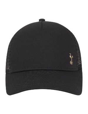 Spurs Adult Black Badge Trucker