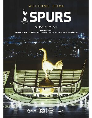 Spurs Vs Crystal Palace Programme