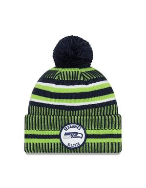 Seattle Seahawks Beanie Hat