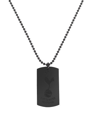Spurs Black Crest Dog Tag