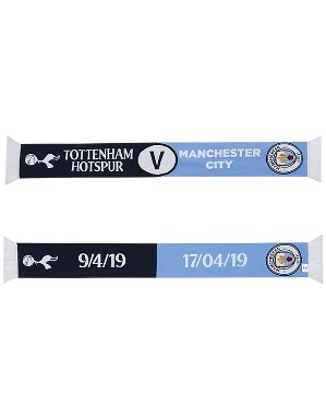 Spurs CL THFC Vs Man City Scarf