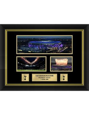 Spurs Inaugural Multi Stadium Framed Picture