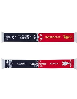 Spurs Champions League Final Scarf