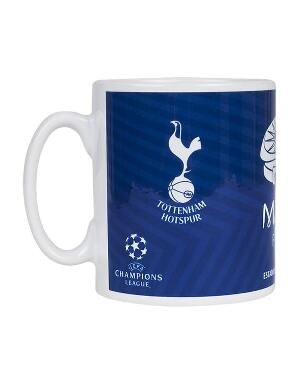 Spurs Champions League Final Mug