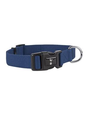 Spurs Large Navy Crest Dog Collar