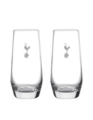 Spurs Twin Pack Tall Glasses