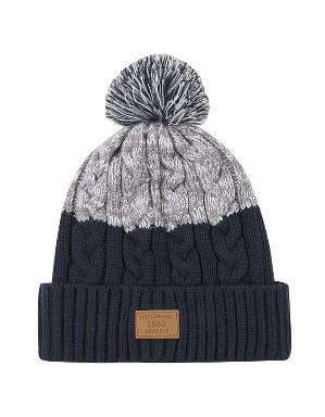 Spurs Adult Cable Bobble Hat