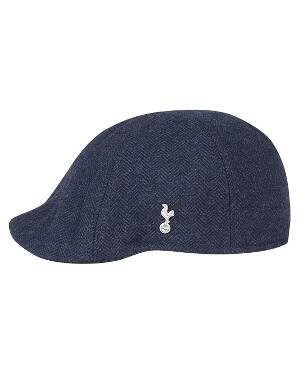 Spurs Adult Herringbone Gatsby Cap