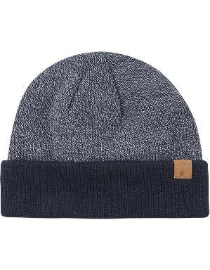 Spurs Adult Navy Mixed Marl Beanie