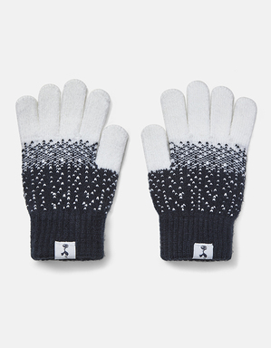 Spurs Kids Navy Scatter Gloves