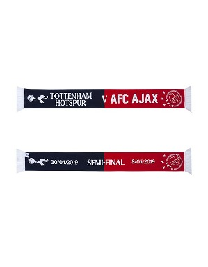 Spurs CL THFC Vs Ajax Semi-Final Scarf